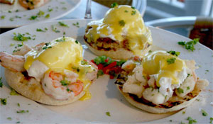 Seafood Benedict