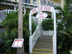 Outstanding cuisine combines with gorgeous water views at the Hot Tin Roof of Key West.