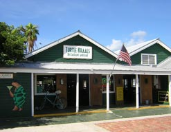 On the Historic Waterfront of Key West, Turtle Kralls Restaurant and Bar.