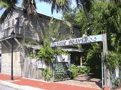 Entrance to Blue Heaven on Petronia Street