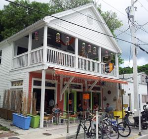 Firefly restaurant on Petronia Street in Bahama Village.
