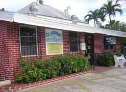 El Siboney restaurant with its brick exterior