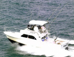 Similarly powered as its sister ship, the Linda D Four will get you out to the fishing grounds quickly.