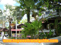 Key West's Hard Rock Cafe – on Duval Street.