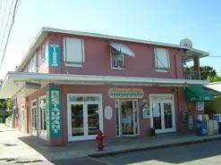 Harpoon Harry's building on Caroline St in Key West