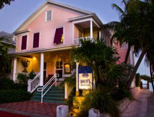 On the water, Louie's Backyard, Key West's finest restaurant
