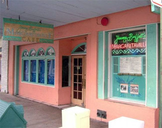 The original Margaritaville bar in Key West