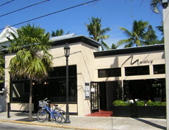 Located on Duval Street, Martin's Restaurant, serves some of the finest dishes in Key West.