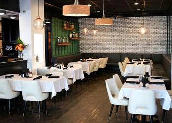 Interior dining at Ocean Grill