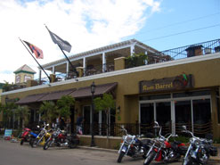 The Rum Barrel, located on Front Street in Old Town Key West - a civilized pirate hangout.