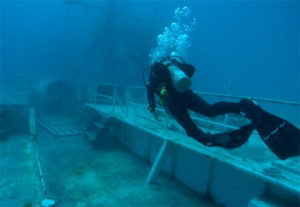 For advanced divers, the wreck of the USS Vandenberg is a must dive.