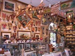 The Wild Side is packed with arts and crafts by artists inspired by nature.