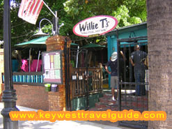 Willie T's on Duval Street in Key West