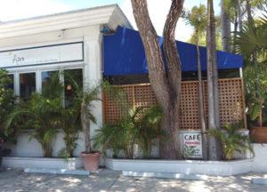 Azur restaurant in Old Town, Key West