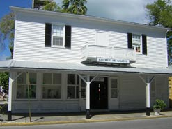 On Whitehead St, the historic Key West Art Center