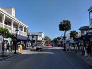 The 100 block of Duval Street