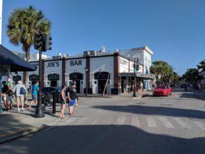 Sloppy Joe's on Duval Street, one of Hemingway's famous hangouts