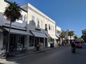 Plenty of shopping opportunities on Duval Street