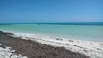 The beautiful beaches of Bahia Honda
