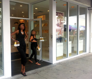 Cosmetic shop on Duval Street - known for overpriced and pushy sales