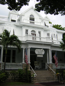 Front of the Curry Mansion in Key West