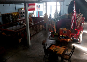 Interior of Key West Firehouse Museum