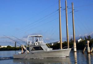 Charter boat Linda D V in Key West