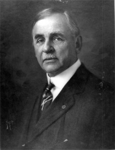 Portrait of Jefferson B. Browne, an important early figure in Key West history.