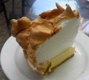 A proper slice of Key West pie from Blue Heaven