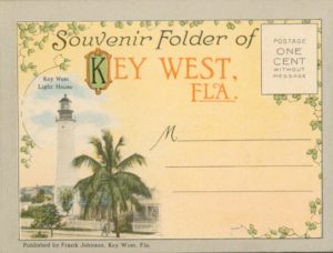 Cover of Souvenir Postcards from 1912