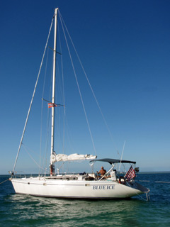 Private charter sailing out of the Key West harbor