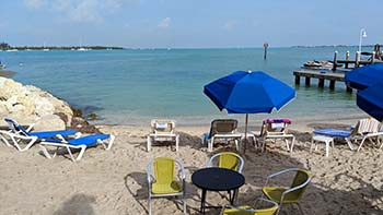 Simonton Street beach in Key West