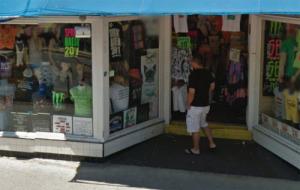 T-shirt shop on Duval Street